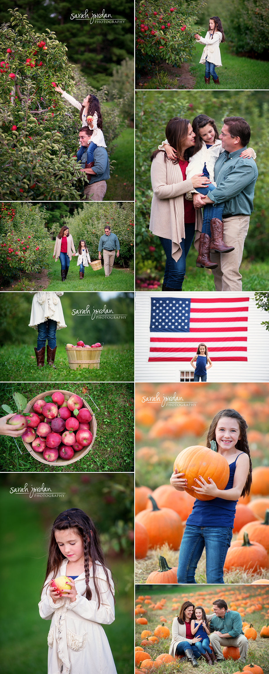 Apple orchard session