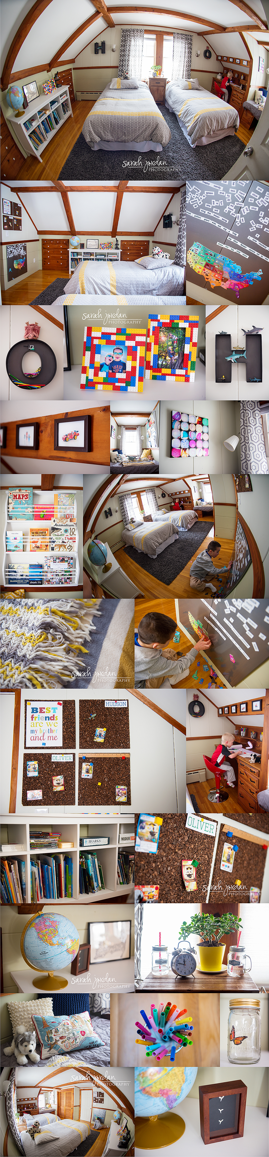 boys shared bedroom