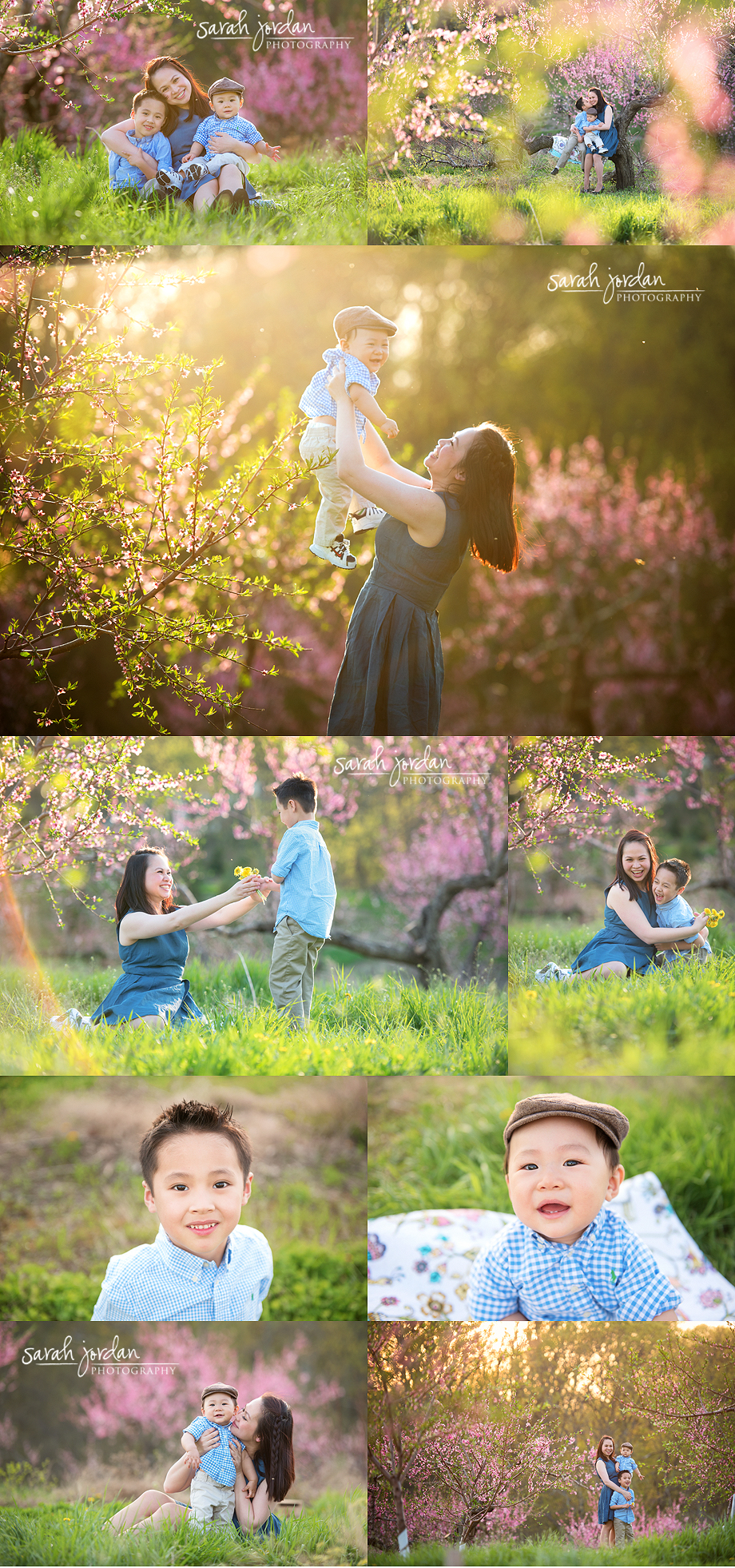 orchard photo session